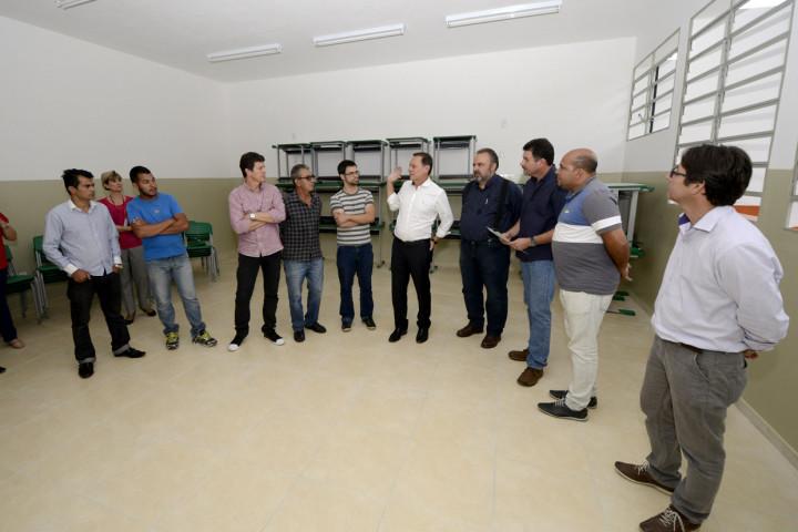 Emeb vai ganhar novas salas com a reforma e ampliação