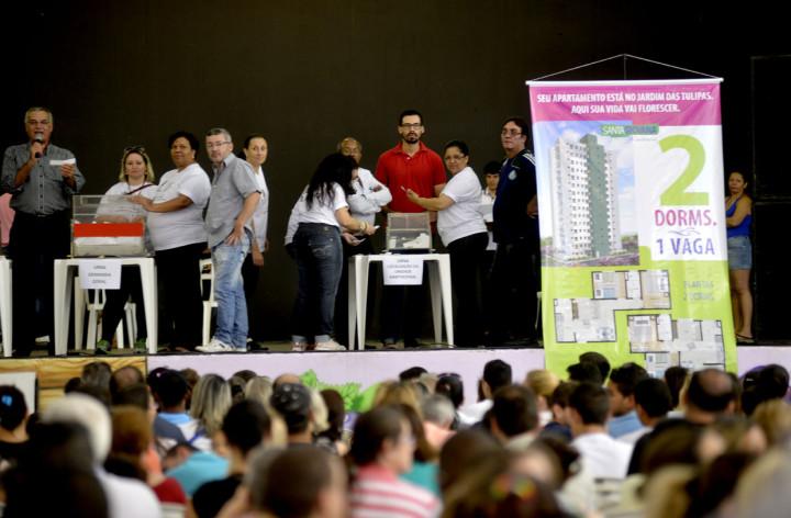 O evento ocorreu no Parque da Uva na manhã deste sábado (11)