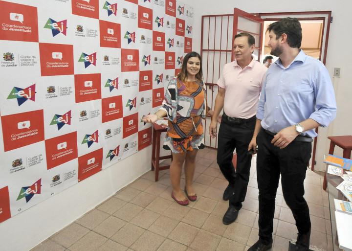 Pedro Bigardi e Medina recepcionados no Estação Juventude