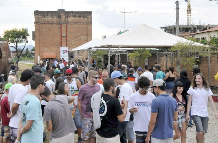 O evento movimentou o Complexo Fepasa