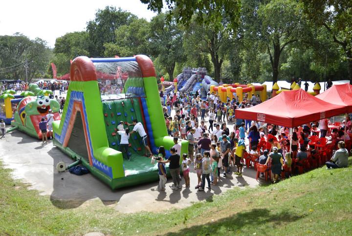 Evento tem diversão garantida para crianças e adultos