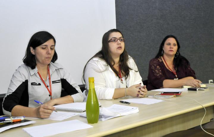 Edileine, Marcela e Valéria: programa valoriza artesanato de Jundiaí