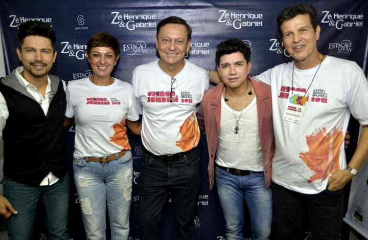 Prefeito Pedro Bigardi e primeira-dama Margarete Bigardi curtiram vários shows na Virada