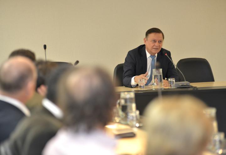 O prefeito Pedro Bigardi destacou a importância da participação social