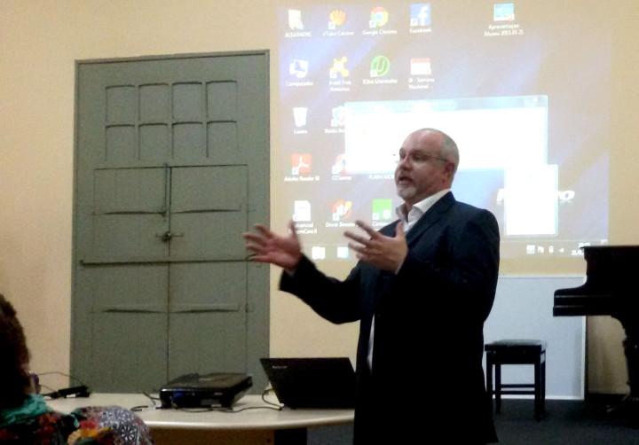 Ambientalista Flávio Gramolelli falou sobre a importância do tema