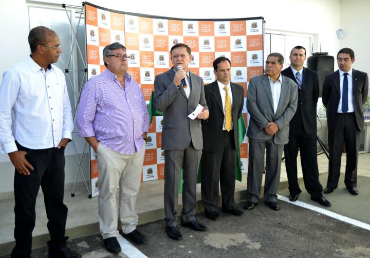 Bigardi esteve acompanhado de autoridades duerante evento