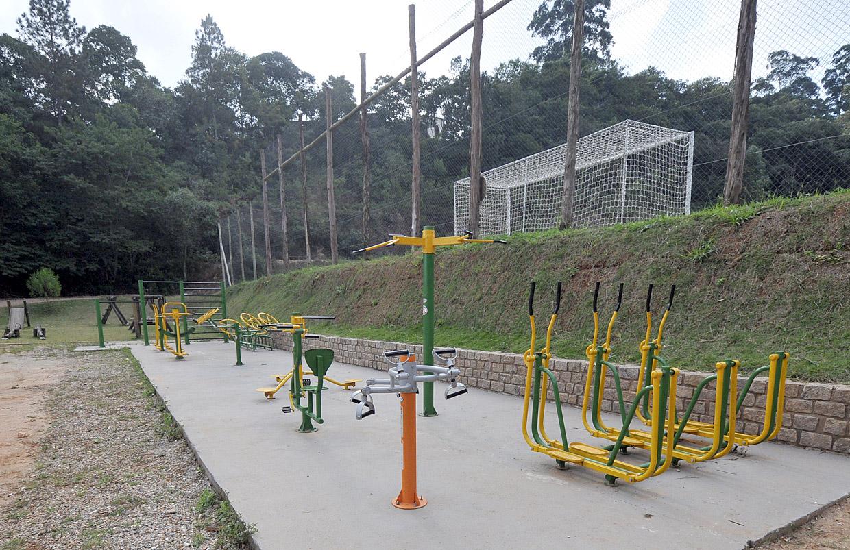 Bairro ganhou recentemente academia ao ar livre e teve playground reparado