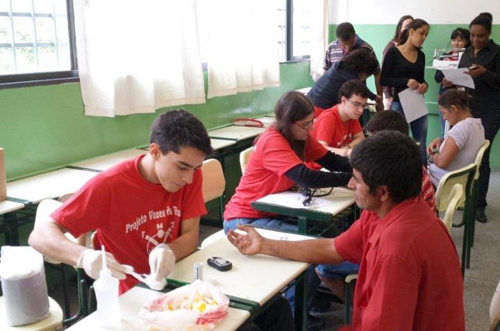 Atividade faz parte do Projeto Vozes das Ruas (PVR)