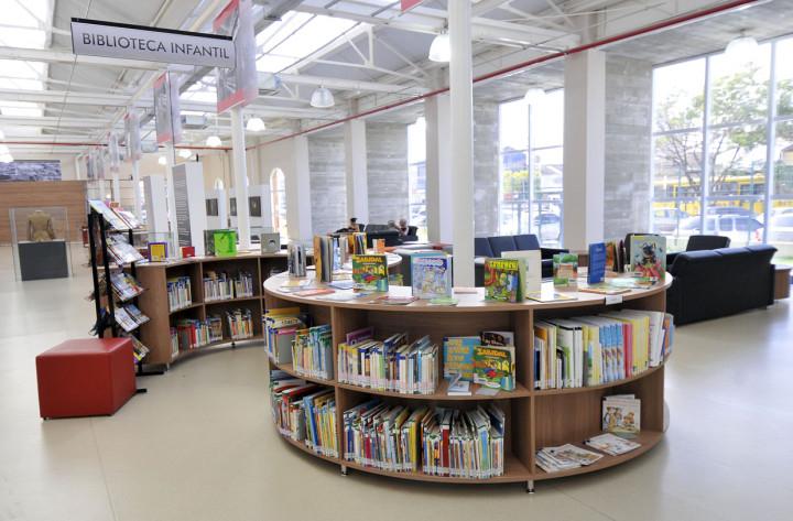 O auditório da Biblioteca Professor Nelson Foot fica no Complexo Argos