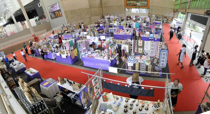 Muitos produtos de artesanato estarão expostos