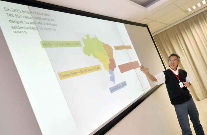 Ozahata apresentou cenário atual da dengue