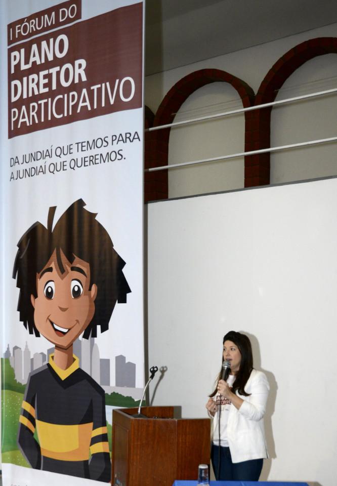 Daniela explica processo entra na fase de propostas em cima do diagnóstico apresentado no evento