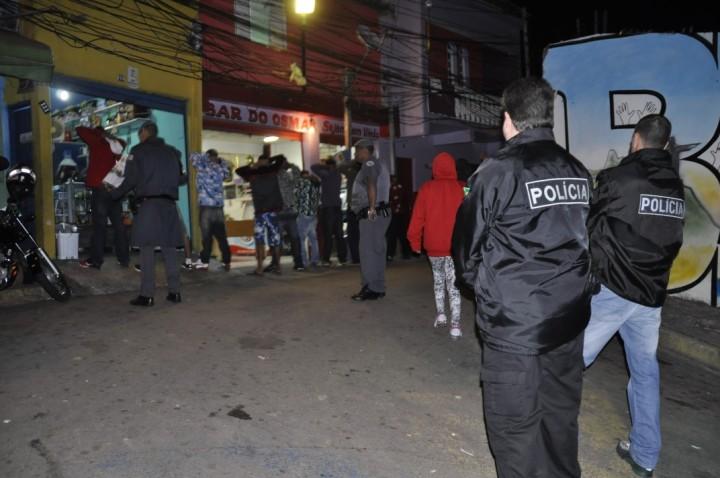 Forças de segurança atuam em conjunto no município