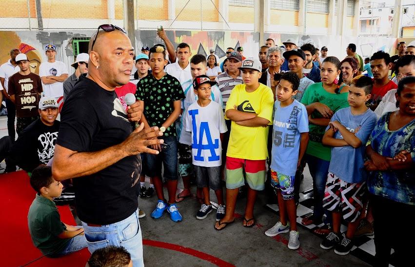 Rapper GOG participou da 3ª edição da Ocupação Hip-Hop no São Camilo