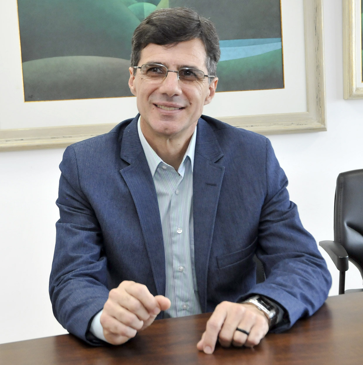 José Renato Polli, secretário: mais de 150 sugestões
