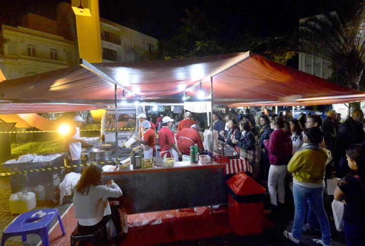 Praça de alimentação terá estrutura no Parque da Uva