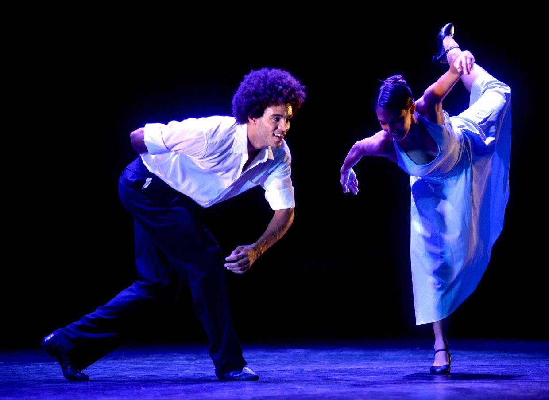 Companhia reuniu três coreografias em um só espetáculo