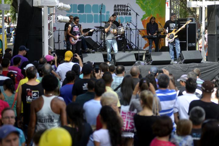 Shows musicais atraíram grande público ao Centro