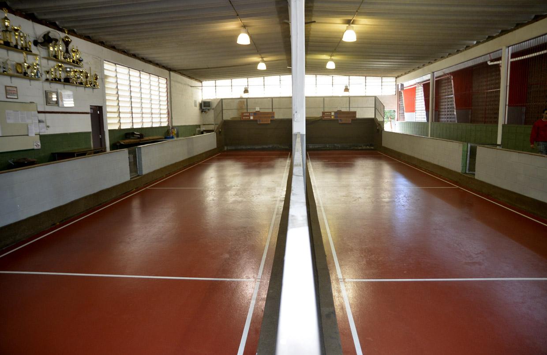 A cancha foi considerada de primeiro nível pelos atletas de Jundiaí
