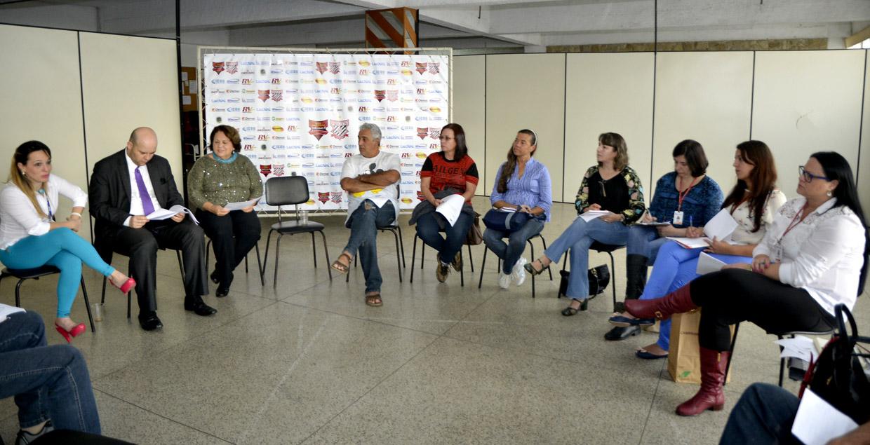 O encontro usou o espaço do Paulista, no estádio Jayme Cintra