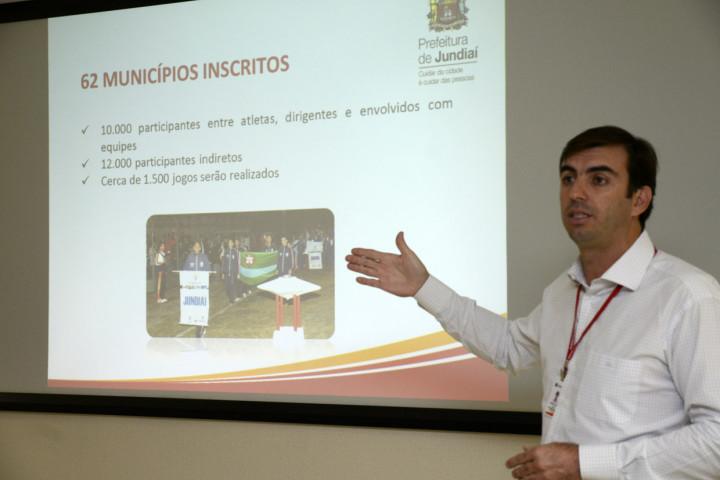 Cristiano Lopes, secretário de Esportes, falou sobre os Jogos Regionais