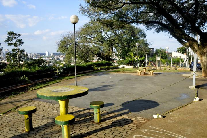 Praça no Jardim Bonfiglioli vai receber academia ao ar livre