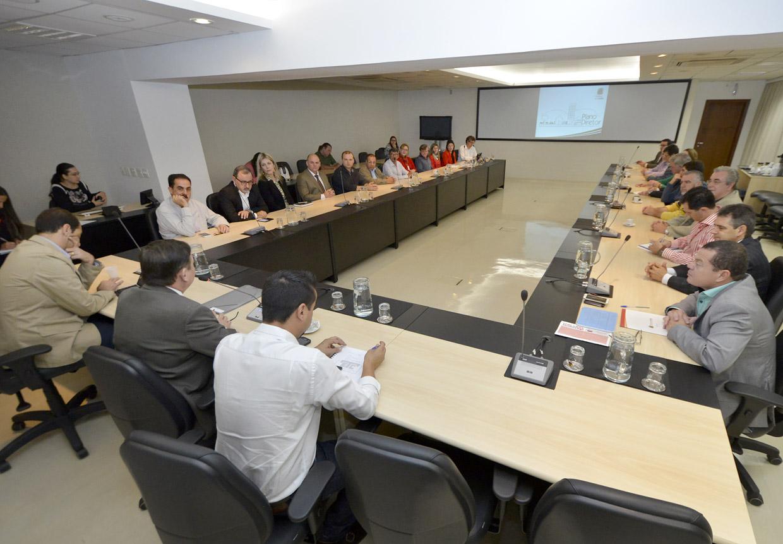 O Conselho da Cidade conta com 40 integrantes dos mais diversos setores