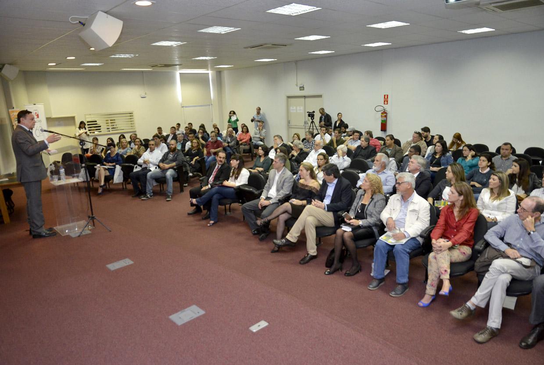 O prefeito falou da relevância do encontro e dos caminhos que Jundiaí tem trilhado no planejamento
