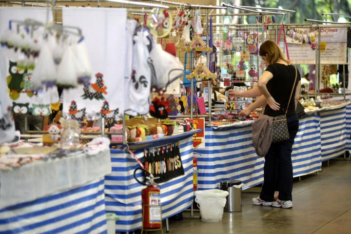 Visitantes vão encontrar trabalhos e também sabores na feira
