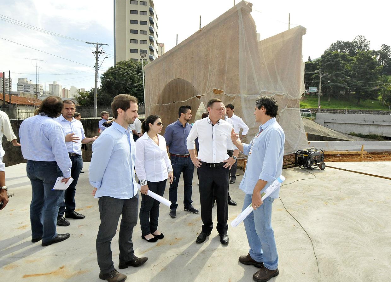 Visita às obras dentro do Prefeitura em Ação na quarta-feira (15): mudança na paisagem e na memória