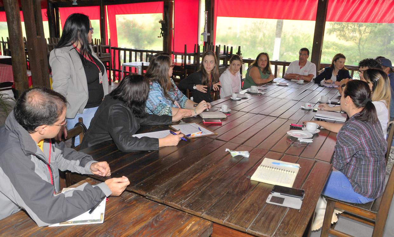 A reunião destacou atrativos ambientais, rurais e culturais, além  das potencialidades e de outros parceiros do próprio bairro