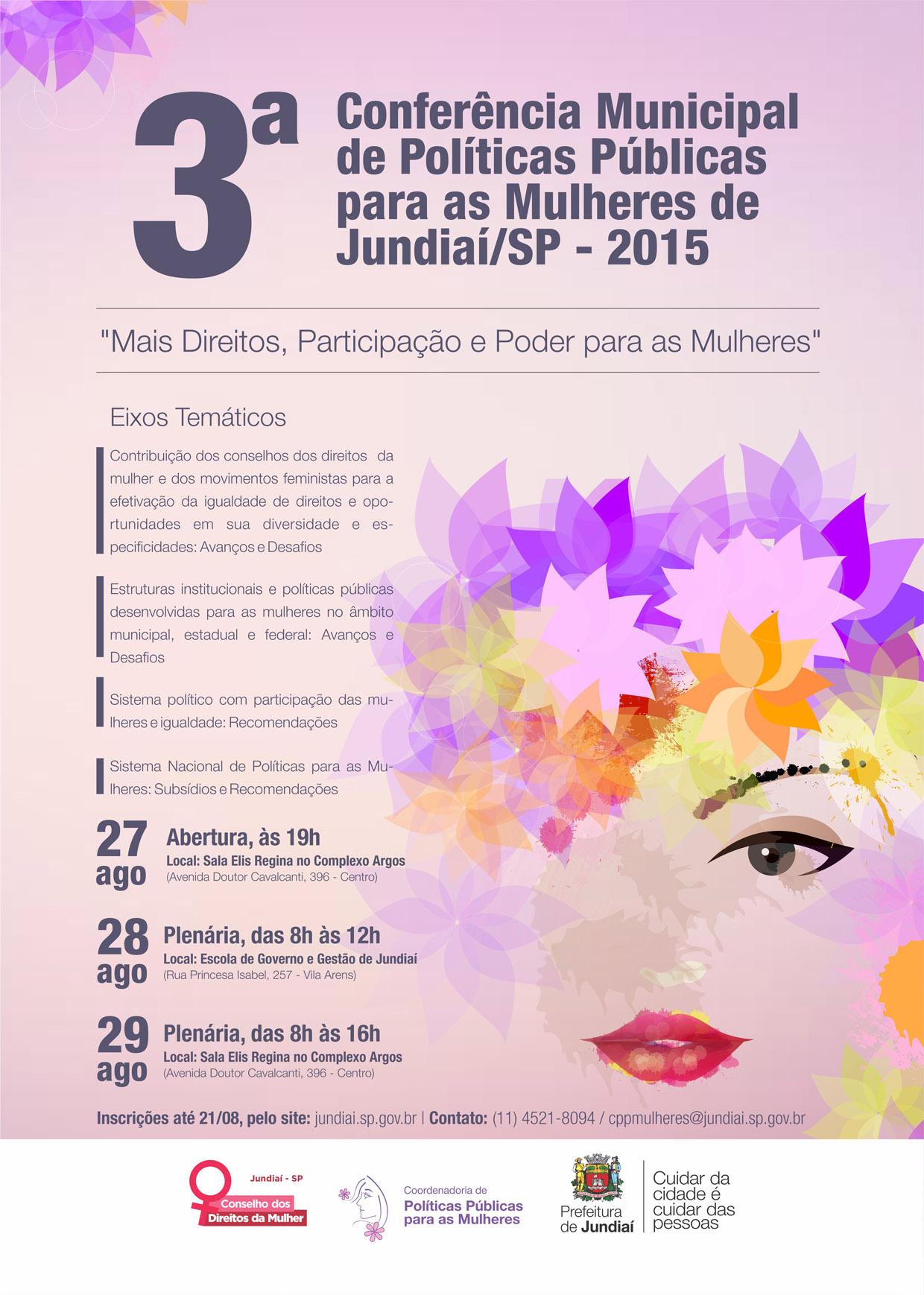 Conferência vai ser realizada nos dias 27, 28 e 29 de agosto