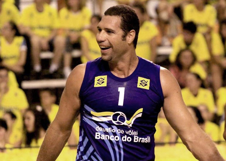 Uma das palestras será de Marcelo Negrão, medalhista olímpico da seleção de vôlei, sobre motivação