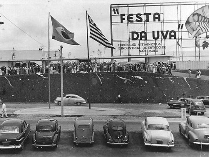 Festa da Uva (foto da década de 1950) foi uma das ações especializadas desenvolvidas desde 2013