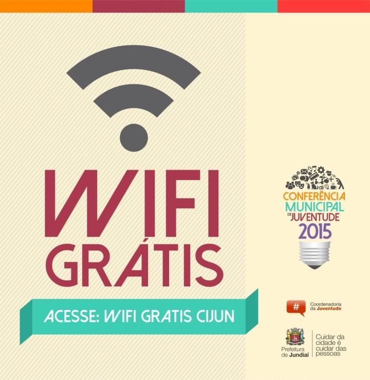 Wi-fi grátis é uma das novidades da Conferência