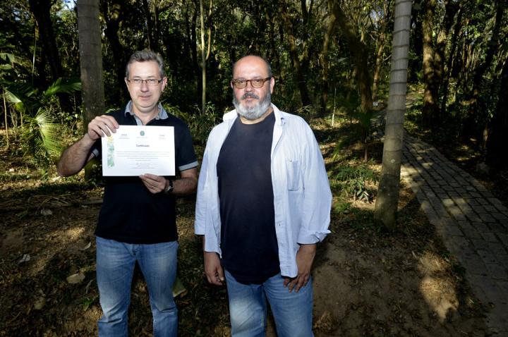Botânico recebeu a visita de João Neves, da Rede Brasileira