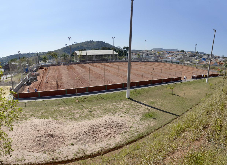 O campo faz parte do programa de revitalização do centro esportivo 0f2bd3cc8f439