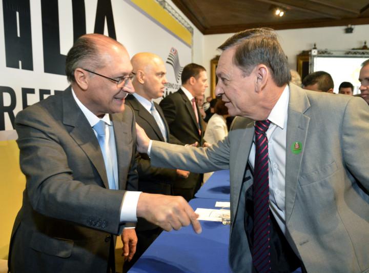 Prefeito Pedro Bigardi se encontrou com o governador nesta semana