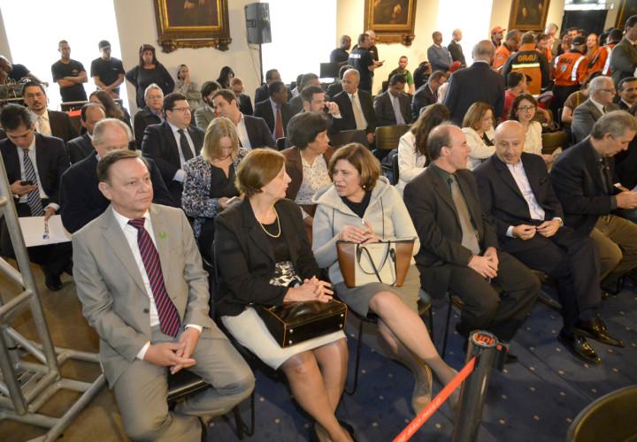 Pedro Bigardi prestigiou evento no Palácio dos Bandeirantes