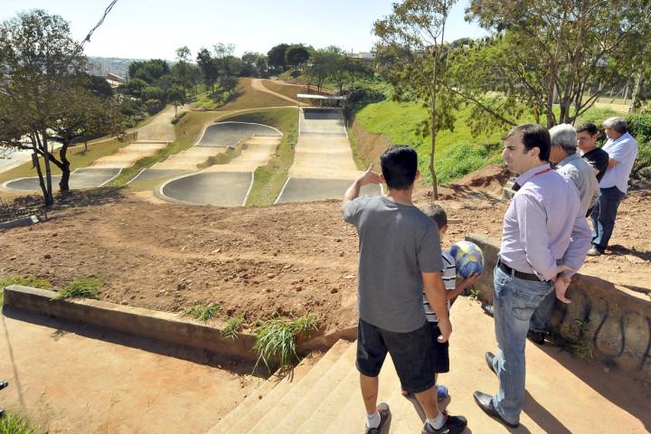 Pista de BMX é um dos legados dos Jogos Regionais, disputados na cidade em julho