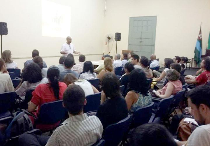 Primeiro módulo do curso atraiu dezenas de interessados