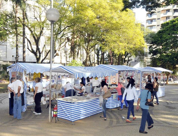 O artesanato vem sendo valorizado em Jundiaí e já virou uma atração em eventos