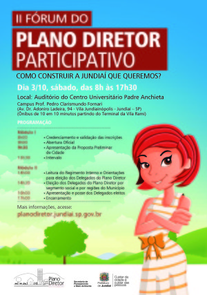 A5 - II forum Plano Diret g