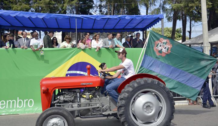 Setor agrícola também vai estar presente no desfile do Dia da Pátria