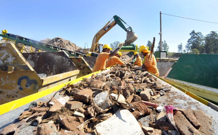 Capacidade de reciclagem será ampliada com a esteira