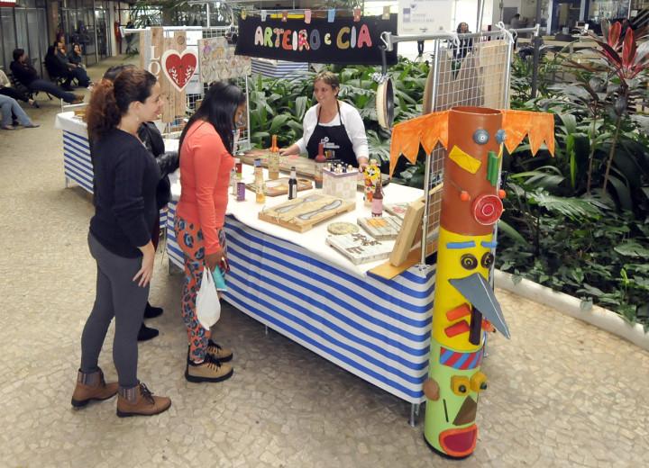 O artesanato genuíno do Jundiaí Feito virou atração na cidade