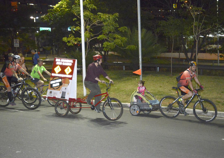 Entre os participantes, equipe de transportes da Prefeitura