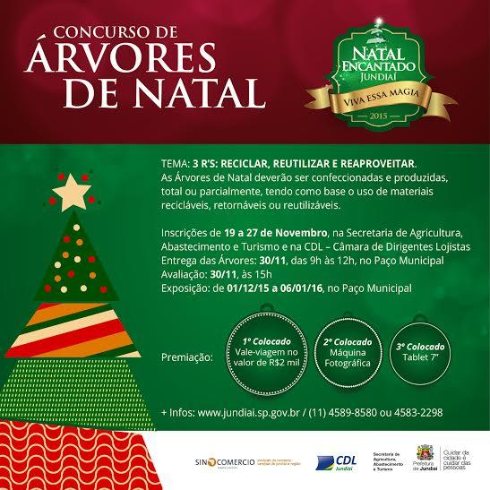 Natal Encantado 2015: Concurso de Árvores de Natal