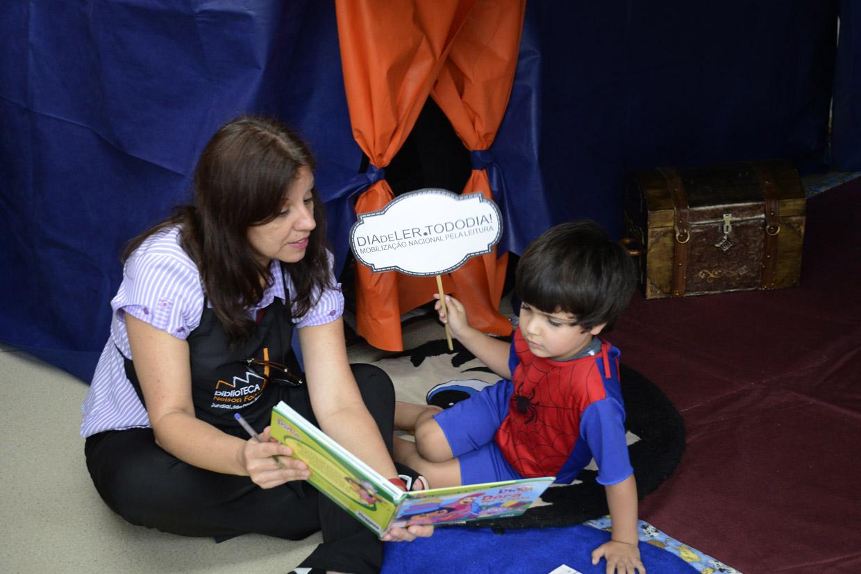 Crianças foram incentivadas a ler cada vez mais