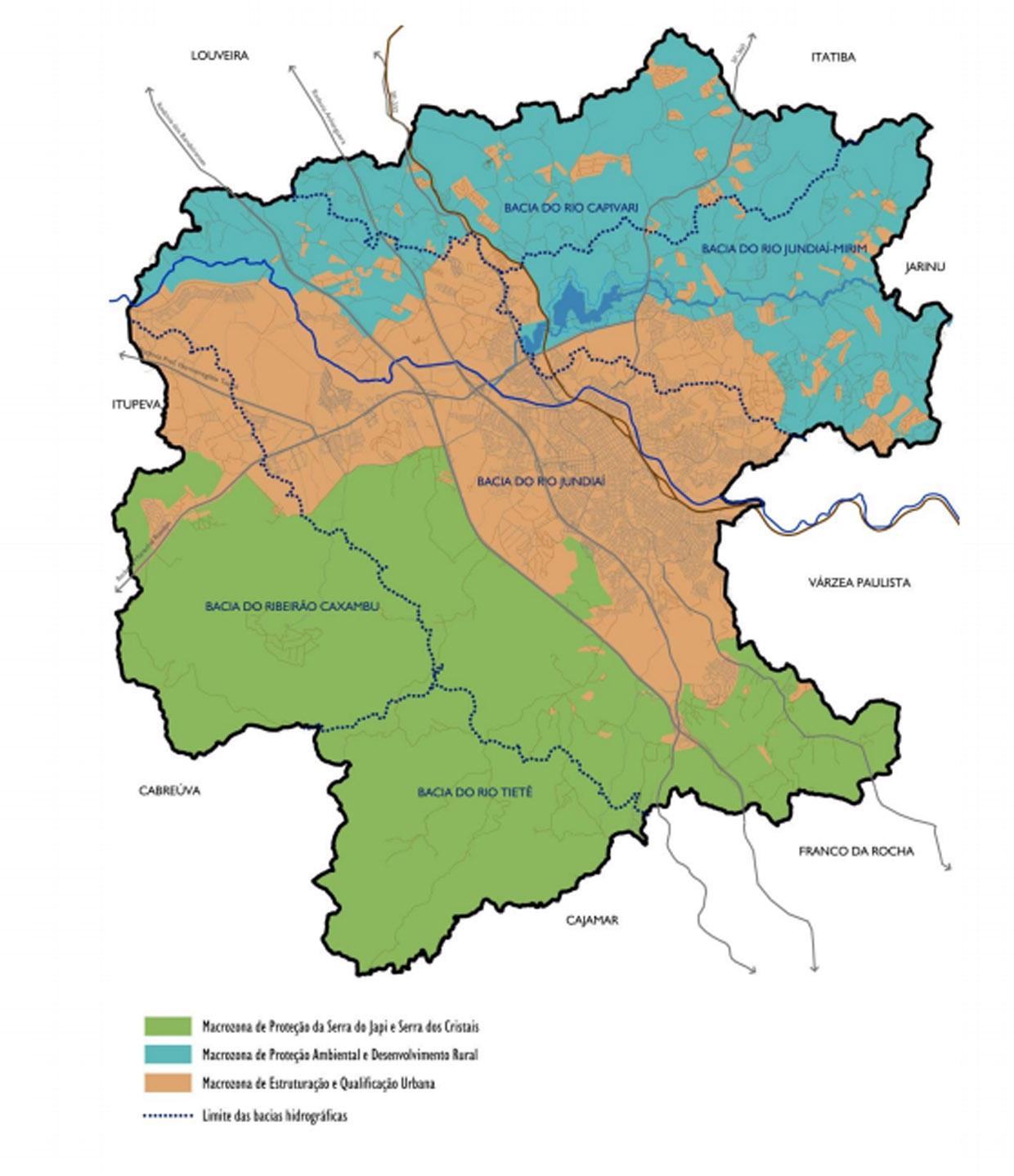As três grandes zonas de Jundiaí (rural, urbana e de serras) recebem planos para dez anos